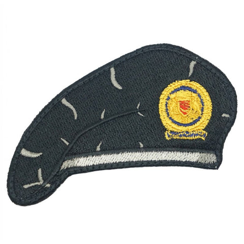 BLACK BERET PATCH - SAF ARMOUR - Hock Gift Shop | Army Online Store in Singapore