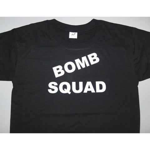 HGS T-SHIRT - BOMB SQUAD (WHITE PRINT) - Hock Gift Shop | Army Online Store in Singapore
