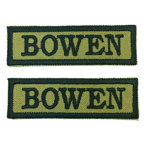 BOWEN NCC SCHOOL TAG - 1 PAIR - Hock Gift Shop | Army Online Store in Singapore