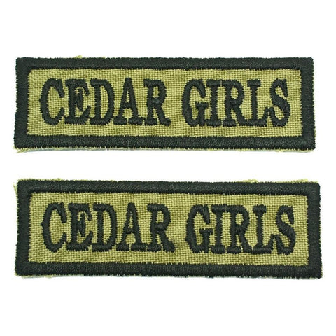 CEDAR GIRLS NCC SCHOOL TAG - 1 PAIR - Hock Gift Shop | Army Online Store in Singapore