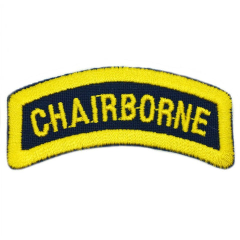 CHAIRBORNE TAB - NAVY YELLOW - Hock Gift Shop | Army Online Store in Singapore