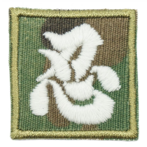CHINESE CALLIGRAPHY MINI NINJA PATCH - GLOW (MULTICAM) - Hock Gift Shop | Army Online Store in Singapore