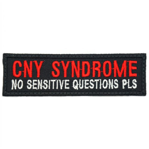 CNY SYNDROME PATCH - BLACK RED - Hock Gift Shop | Army Online Store in Singapore