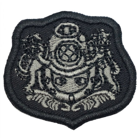 COMBAT DIVER PATCH - BLACK - Hock Gift Shop | Army Online Store in Singapore