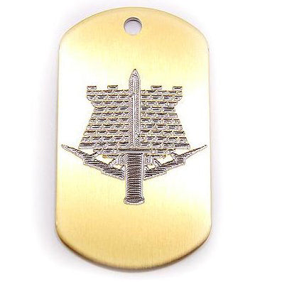 UNIT DOG TAG - COMBAT ENGINEER - Hock Gift Shop | Army Online Store in Singapore