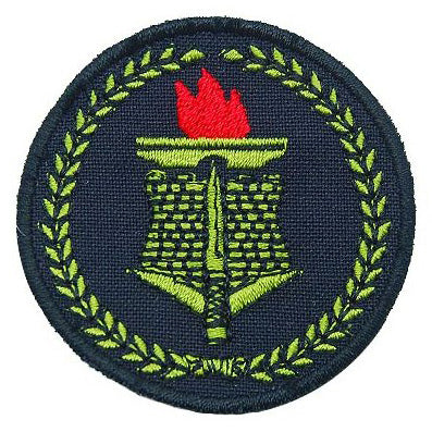 COMBAT ENGINEER PATCH - BLACK - Hock Gift Shop | Army Online Store in Singapore