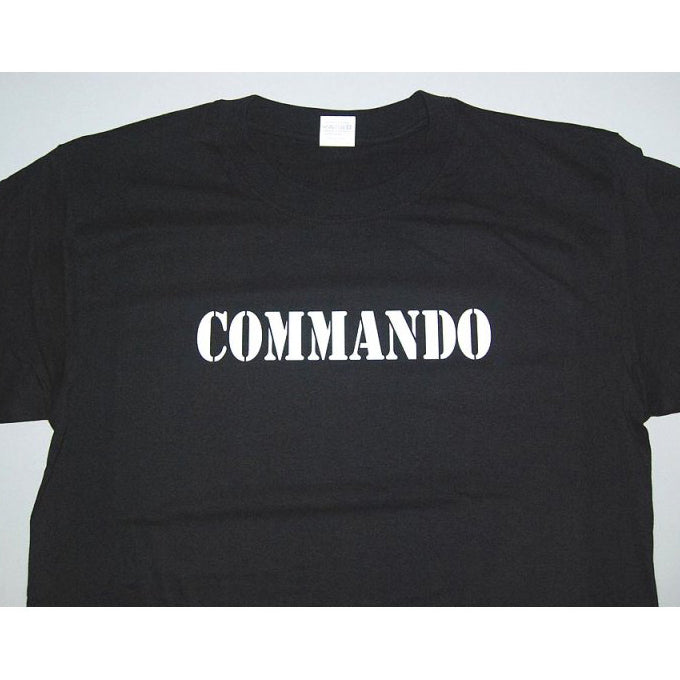 0d21c6f4 HGS T-SHIRT - COMMANDO (WHITE PRINT) – Hock Gift Shop | Army Online ...