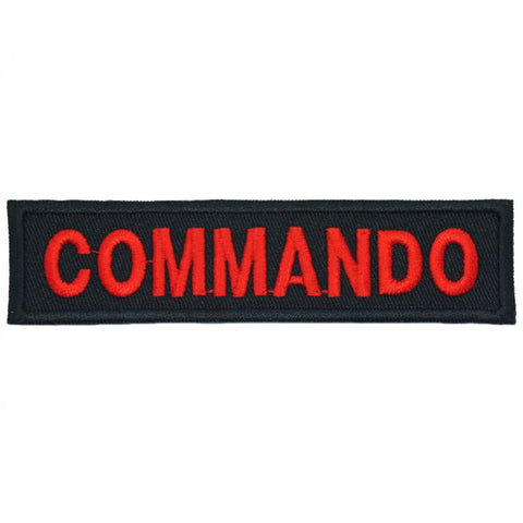 COMMANDO UNIT TAG - BLACK - Hock Gift Shop | Army Online Store in Singapore