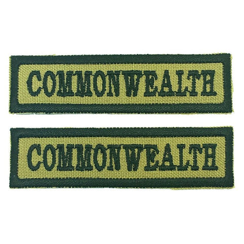 COMMONWEALTH NCC SCHOOL TAG - 1 PAIR - Hock Gift Shop | Army Online Store in Singapore