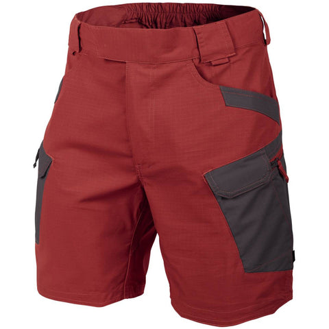 "HELIKON-TEX URBAN TACTICAL SHORTS 8.5""- CRIMSON SKY / ASH GREY"