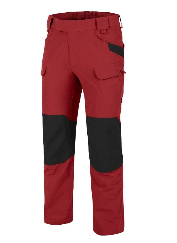 HELIKON-TEX OTP (OUTDOOR TACTICAL PANTS)® - VERSASTRETCH® - CRIMSON SKY / BLACK