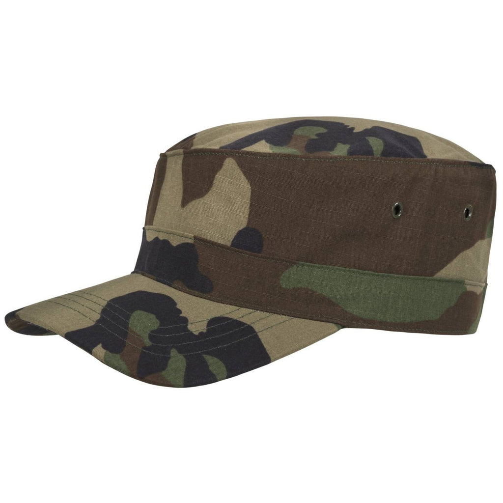 HELIKON-TEX COTTON RIPSTOP COMBAT CAP - US WOODLAND