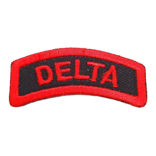 DELTA TAB - BLACK RED