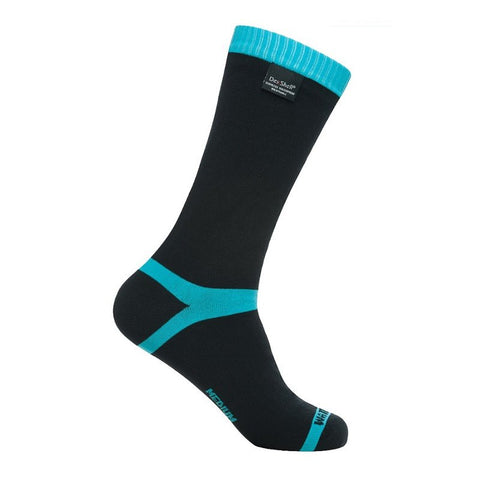 DEXSHELL COOLVENT SOCKS - AQUA BLUE STRIPE