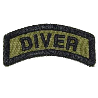 DIVER TAB - OLIVE GREEN