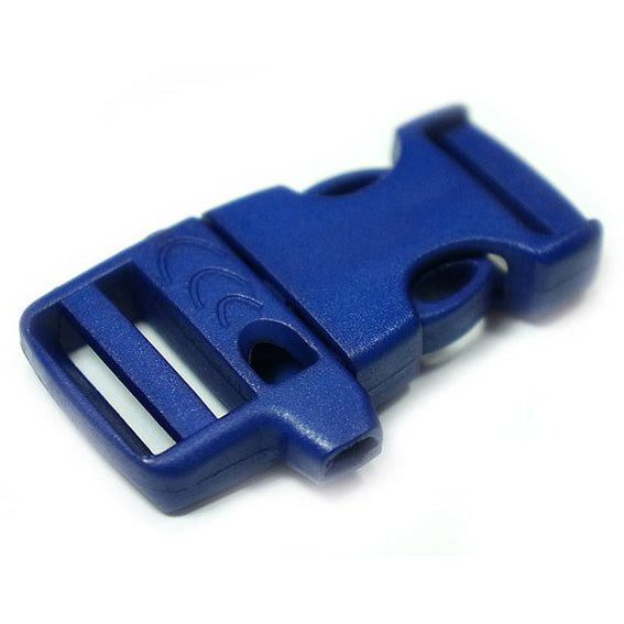 EMERGENCY SURVIVAL WHISTLE BUCKLE - BLUE