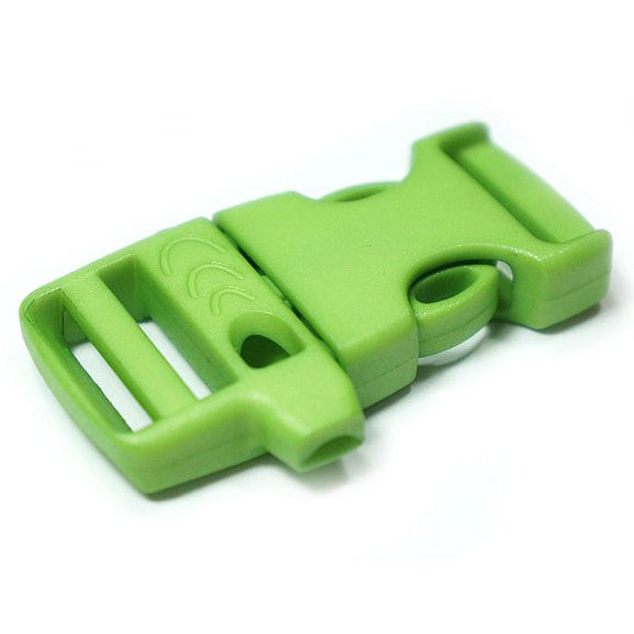 EMERGENCY SURVIVAL WHISTLE BUCKLE - LIME