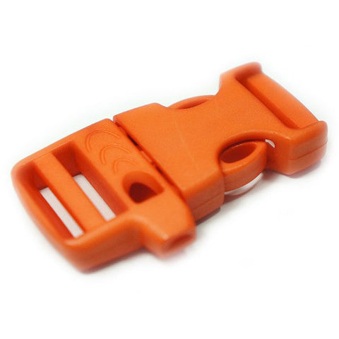 EMERGENCY SURVIVAL WHISTLE BUCKLE - ORANGE