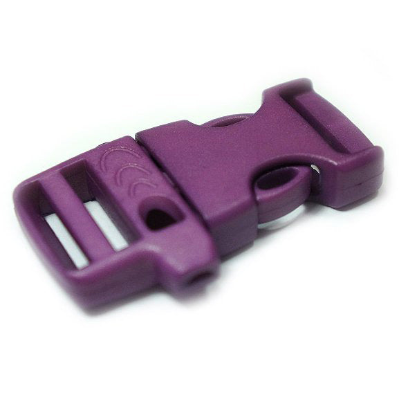 EMERGENCY SURVIVAL WHISTLE BUCKLE - PURPLE