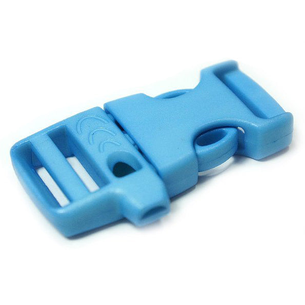 EMERGENCY SURVIVAL WHISTLE BUCKLE - SKY