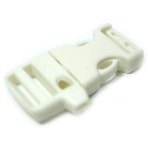 EMERGENCY SURVIVAL WHISTLE BUCKLE - WHITE
