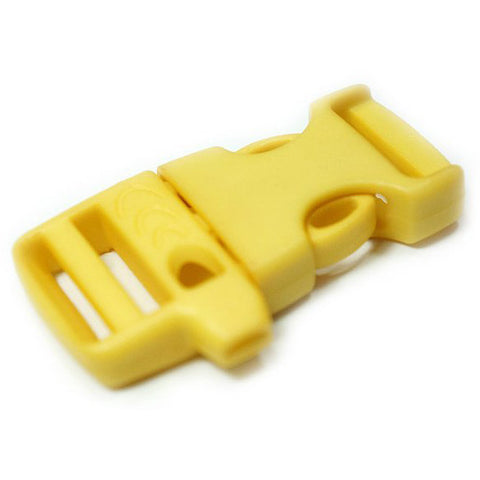 EMERGENCY SURVIVAL WHISTLE BUCKLE - YELLOW