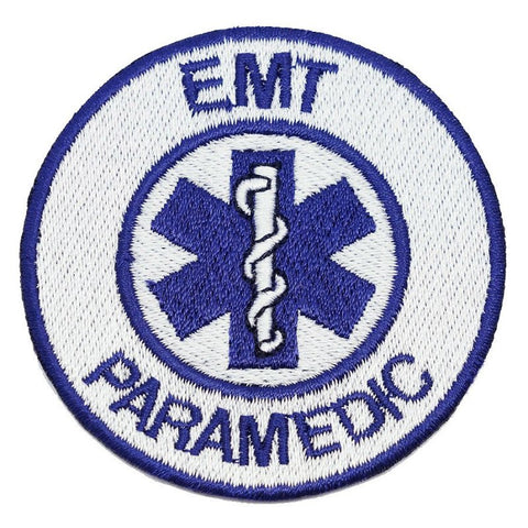 EMT PARAMEDIC PATCH - BLUE