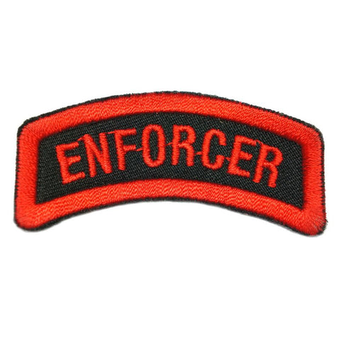 ENFORCER TAB - BLACK RED