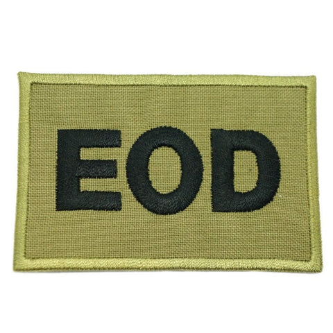 EOD CALL SIGN PATCH - OLIVE GREEN