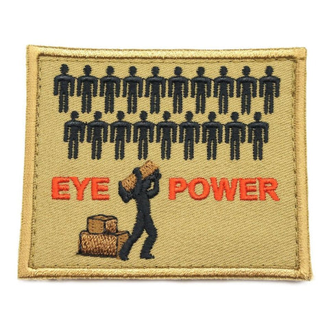 EYE POWER PATCH - COYOTE