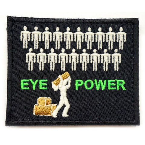 EYE POWER PATCH - GLOW IN THE DARK