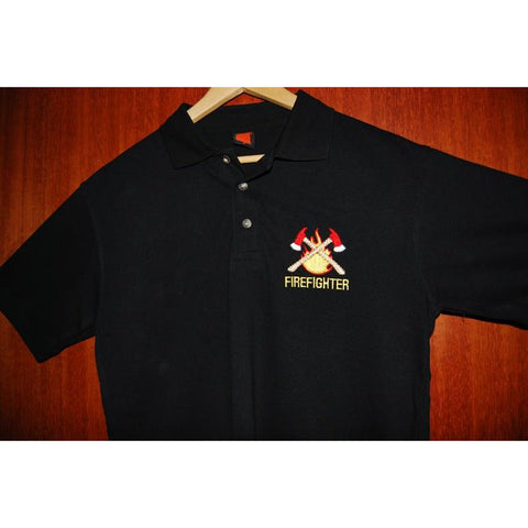 HGS POLO T-SHIRT - FIRE FIGHTER - Hock Gift Shop | Army Online Store in Singapore