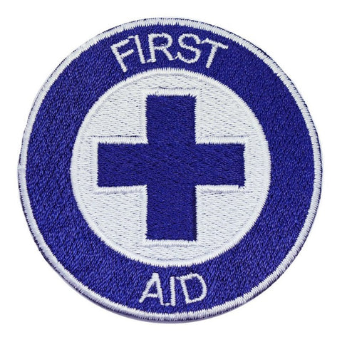 FIRST AID PATCH - BLUE CROSS