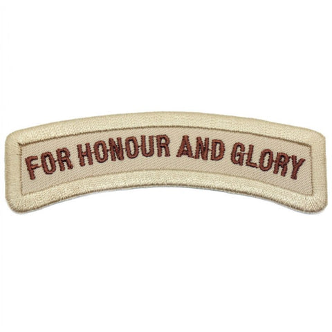 FOR HONOUR AND GLORY TAB - BROWN