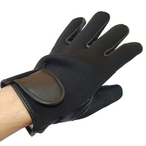FULL LEATHER GLOVES (NEOPRENE TOP) - Hock Gift Shop | Army Online Store in Singapore