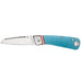 GERBER STRAIGHT LACE CLIP FOLDING KNIFE - BLUE