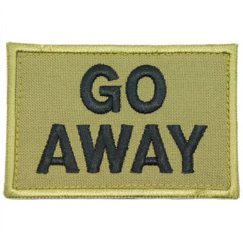 GO AWAY PATCH - OLIVE GREEN