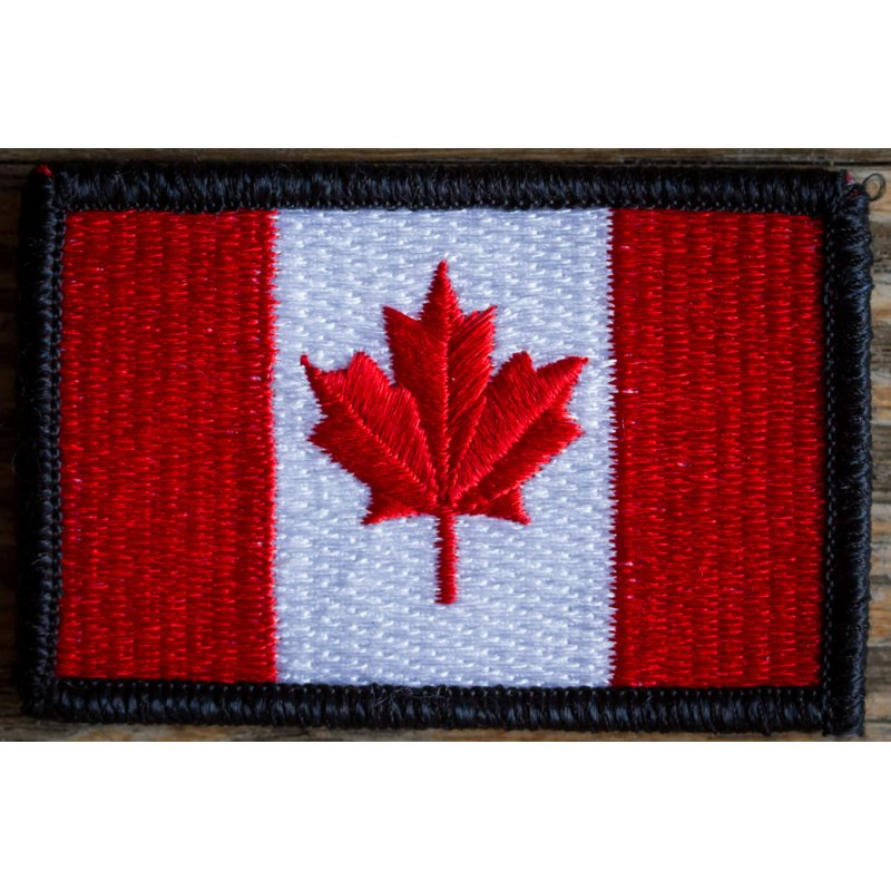 GORUCK EMBROIDERED CANADIAN FLAG PATCH