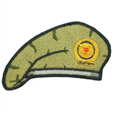 GREEN BERET PATCH - SAF INFANTRY