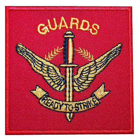 GUARDS PATCH - RED