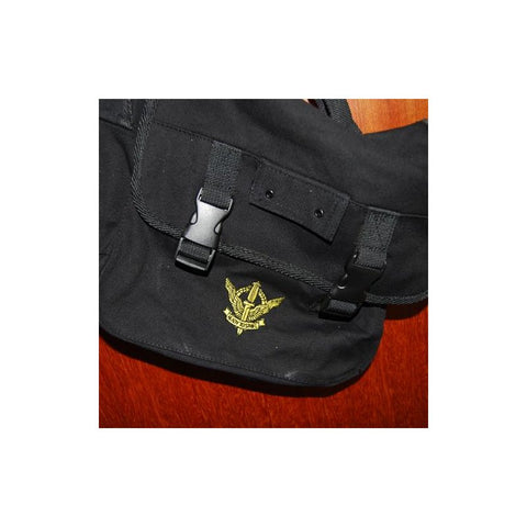 D&G SOLDIERTALK GUARDS SLING BAG - BLACK