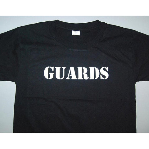 HGS T-SHIRT - GUARDS (WHITE PRINT) - Hock Gift Shop | Army Online Store in Singapore