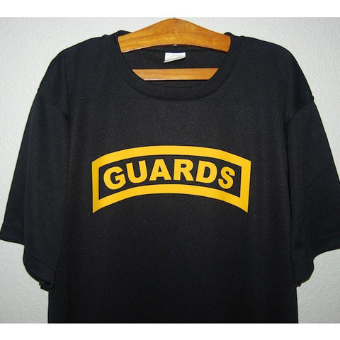 HGS T-SHIRT - GUARDS TAB (YELLOW PRINT) - Hock Gift Shop | Army Online Store in Singapore