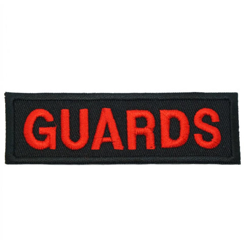 GUARDS UNIT TAG - BLACK