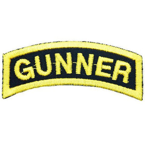 US GUNNER TAB - BLACK YELLOW