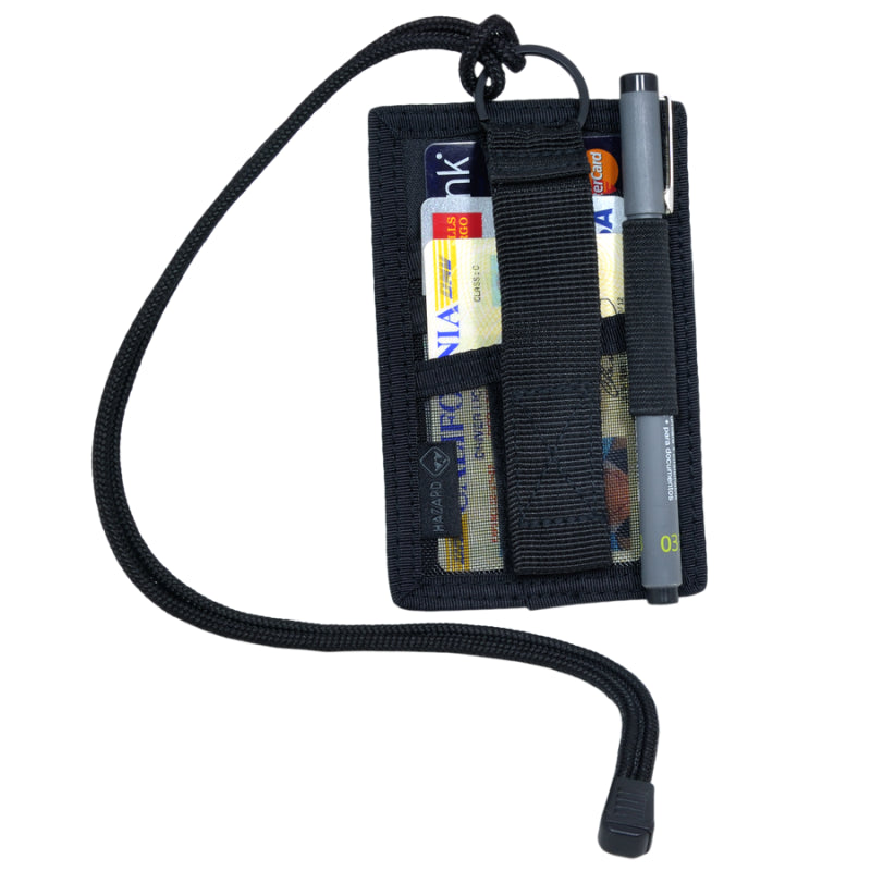 HAZARD 4 BADGER ID HOLDER - BLACK