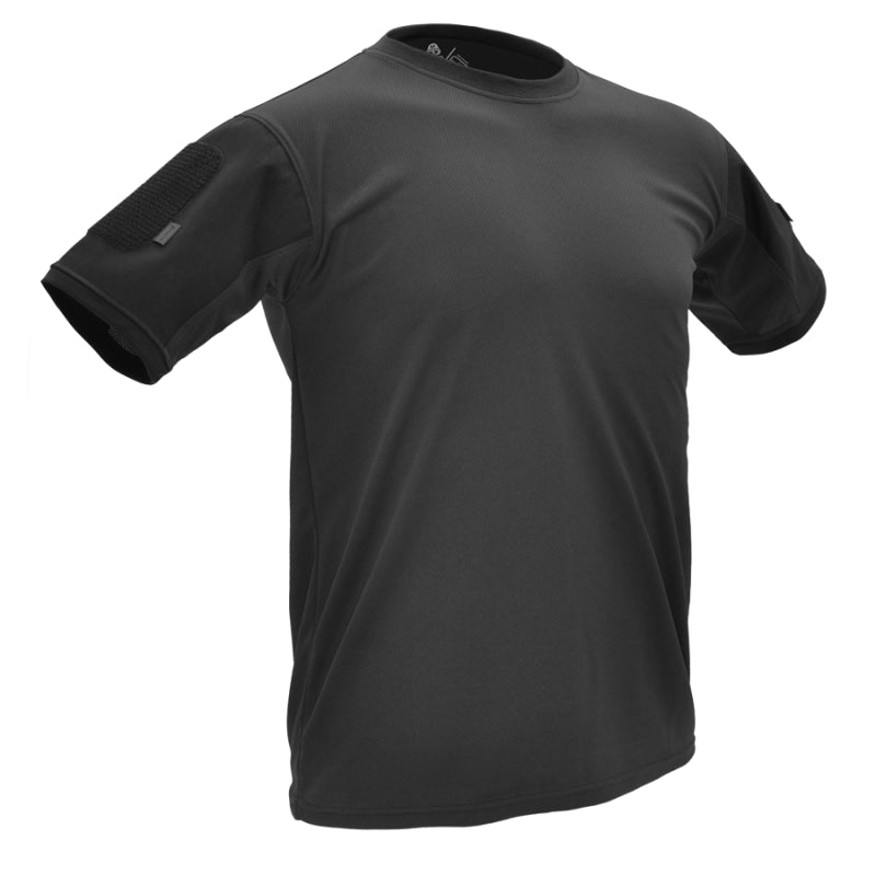 HAZARD 4 BATTLE-T UNDERVEST T-SHIRT - BLACK