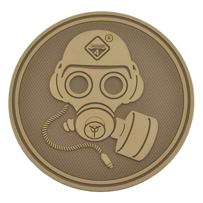 HAZARD 4 GAS MASK PATCH PVC - COYOTE