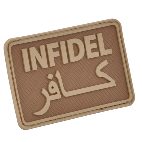 HAZARD 4 INFIDEL MORALE PATCH PVC - COYOTE
