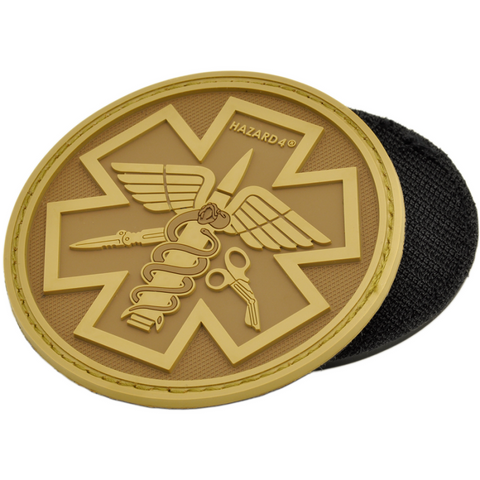 HAZARD 4 PARAMEDIC PATCH PVC - COYOTE - Hock Gift Shop | Army Online Store in Singapore